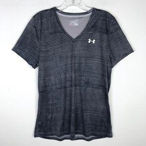 Under Armour Loose Heatgear V-Neck Shirt #684